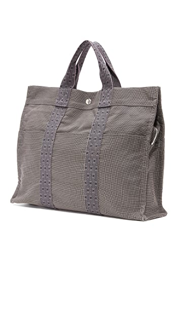 What Goes Around Comes Around Hermes Herline MM Tote (Previously Owned)