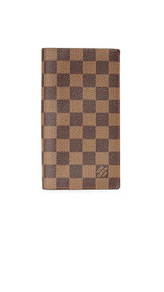 What Goes Around Comes Around Louis Vuitton Damier Ebene Brazza Wallet (Previously Owned)