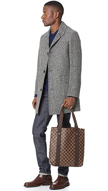 What Goes Around Comes Around Louis Vuitton Damier Ebene Beaubourg Cabas Tote (Previously Owned)