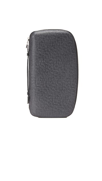 What Goes Around Comes Around Louis Vuitton Taiga Atoll Travel Wallet (Previously Owned)