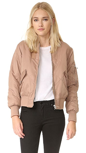 Whistles Carter Reversible Bomber Jacket