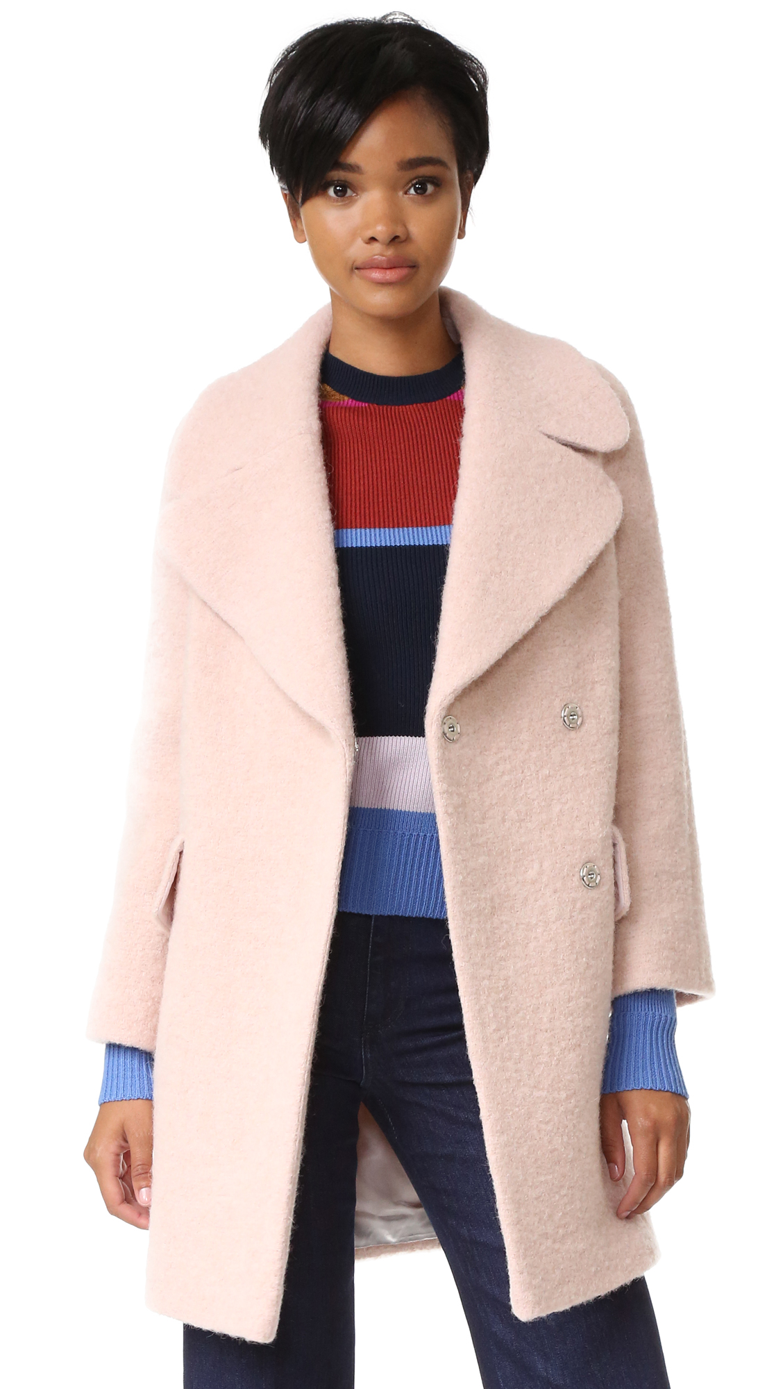 Whistles Penny Double Coat | SHOPBOP