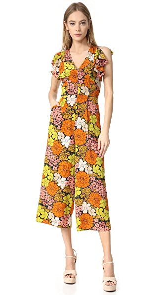 Whistles Celina Tangerine Dream Jumpsuit - Multicolor