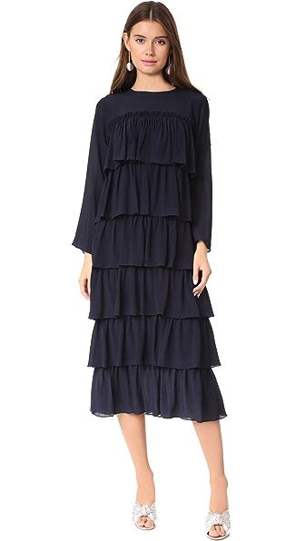 Whit Agatha Dress In Navy