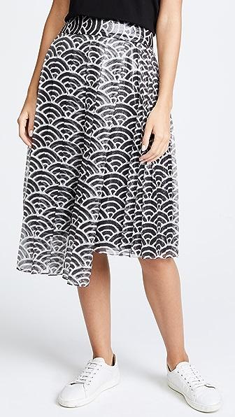Whit Fan Skirt