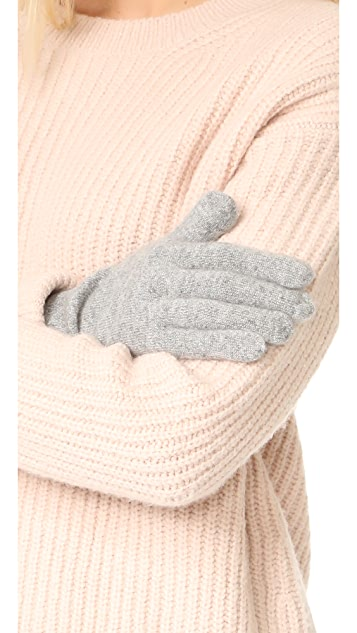 White + Warren Cashmere Gloves