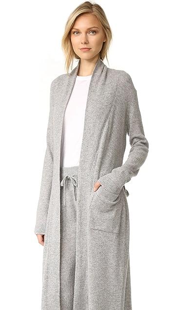 White + Warren Luxe Cashmere Robe