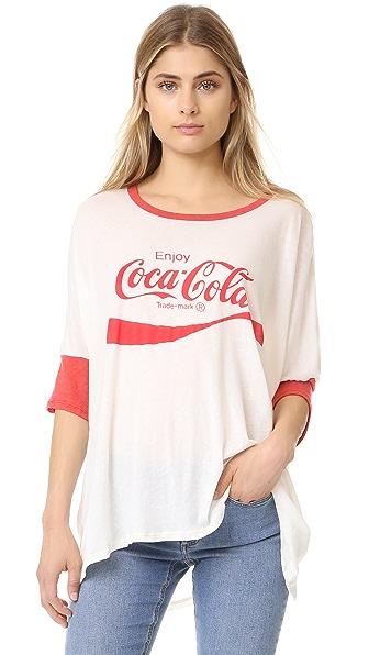Wildfox Coca Cola Morning T-shirt