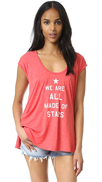 Wildfox All Made Of Stars Tunic