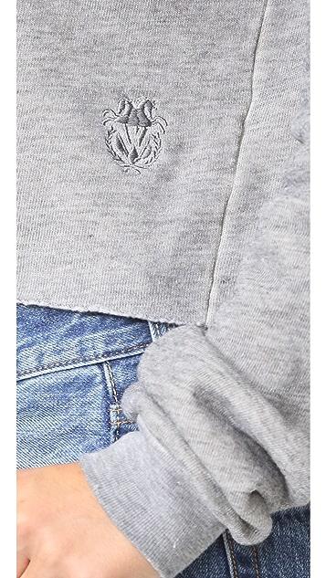 Wildfox Monte Crop Sweatshirt
