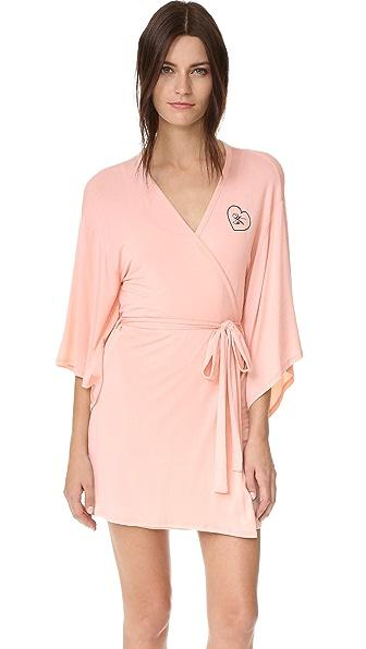 Wildfox Халат в стиле кимоно