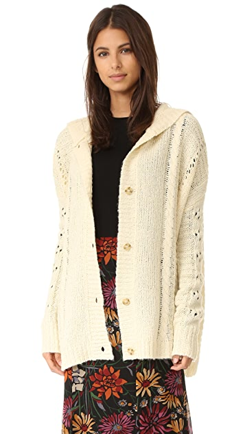 Wildfox Cable Blanket Hoodie