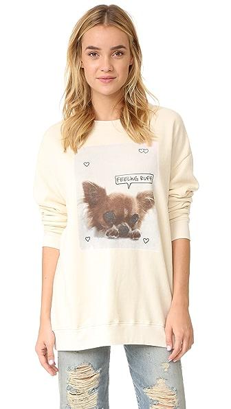 Wildfox Feeling Ruff Sweatshirt
