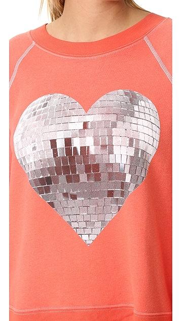 Wildfox My Disco Heart Sweatshirt