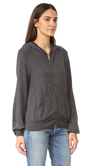 Wildfox Stay High Zip Up Hoodie