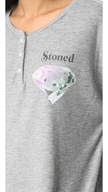 Wildfox Forever Stoned Henley