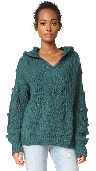 Wildfox Pattie V Neck Sweater
