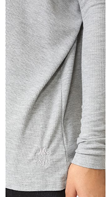 Wildfox Alana Long Sleeve Top