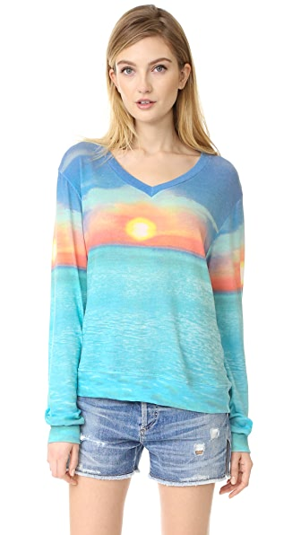 Wildfox Sunset Cruise Pullover