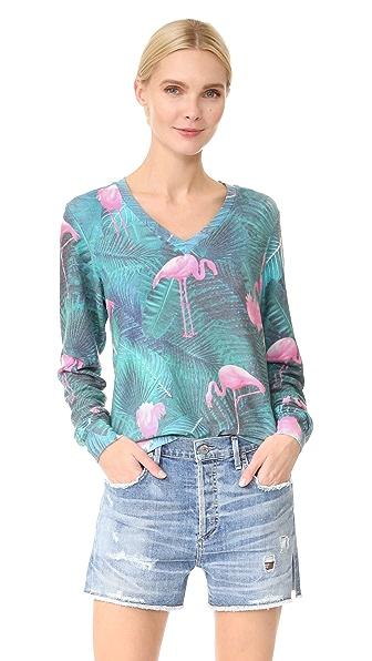 Wildfox Miami Palms Sweatshirt