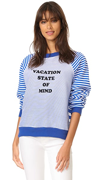 Wildfox Толстовка Vacation State of Mind