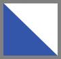 Clean White/Ultramarine Blue