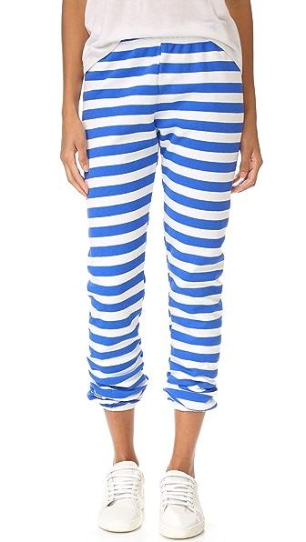 Wildfox Nautical Stripe Sweatpants
