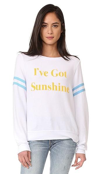 Wildfox I've Got Sunshine Sweatshirt