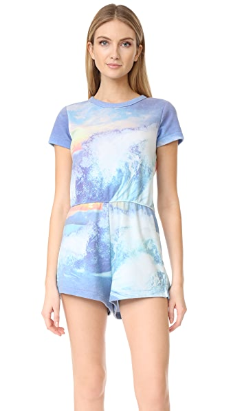 Wildfox Blue Crush Romper