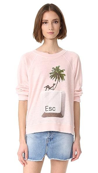 Wildfox Escape Sweatshirt