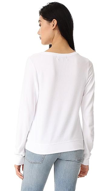 Wildfox More Rose Sweatshirt