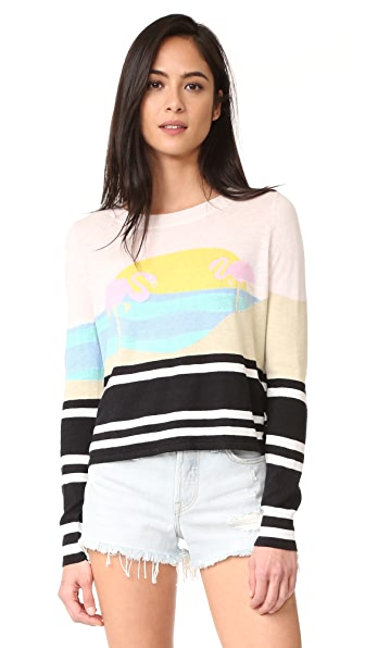 Wildfox Harbour Sunset Sweater - Multi