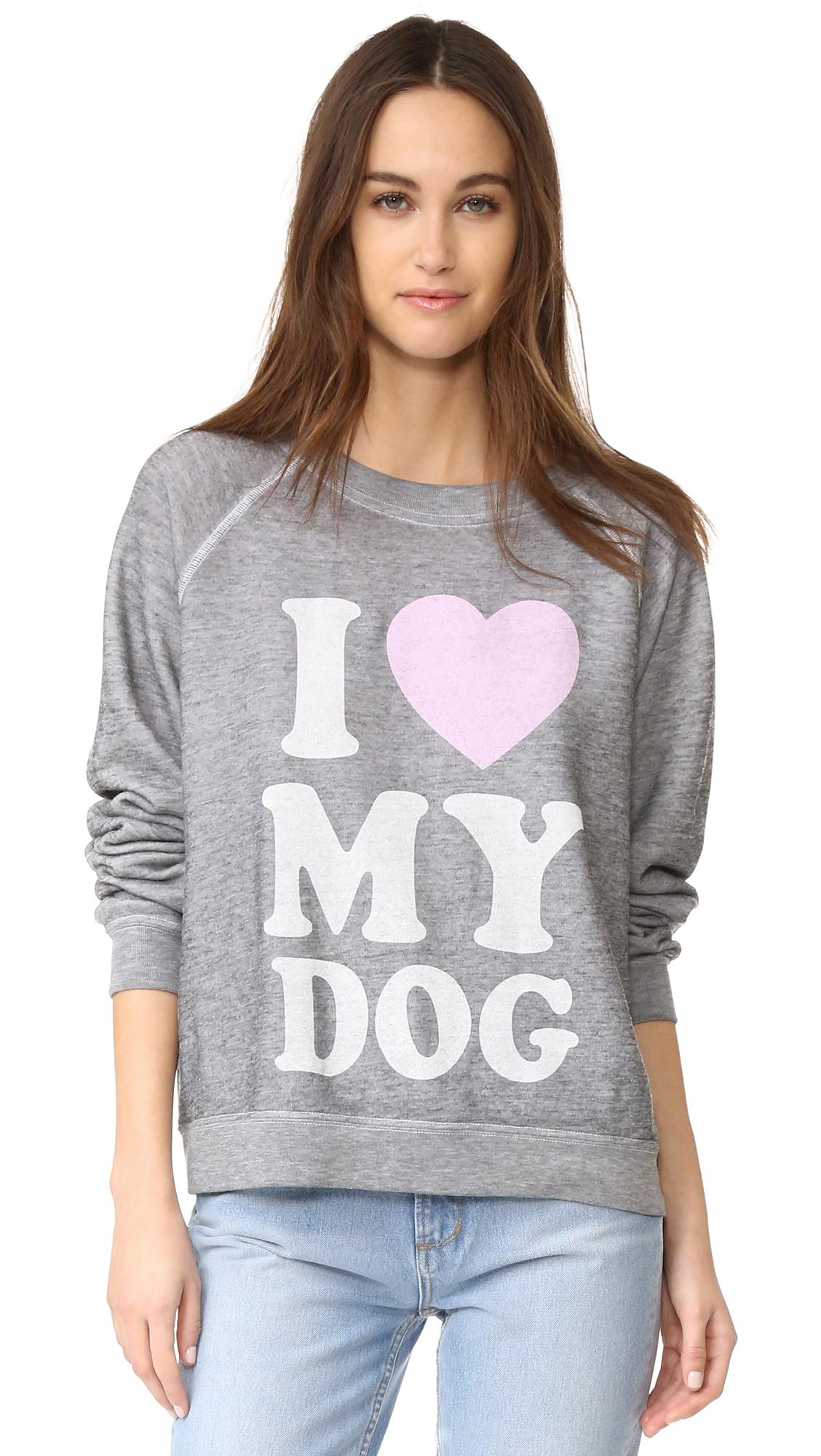 Wildfox Must Love Dogs Sweatshirt