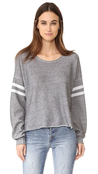 Wildfox 5am Sweatshirt - Heather Burnout