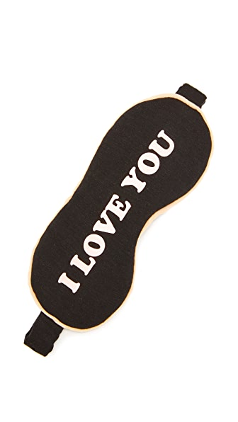Wildfox Маска для сна I Love You