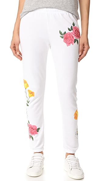 Wildfox Meadow Flowers Sweatpants