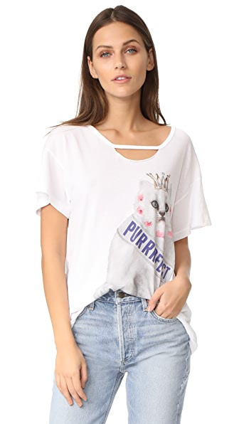 Wildfox Purrfect Tee