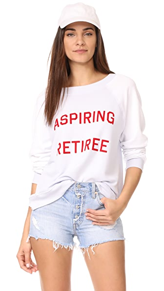 Wildfox Aspiring Retiree Sweatshirt