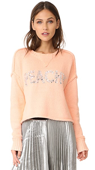 Wildfox Peachy Sweater