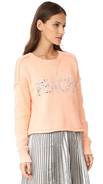 Wildfox Peachy Sweater