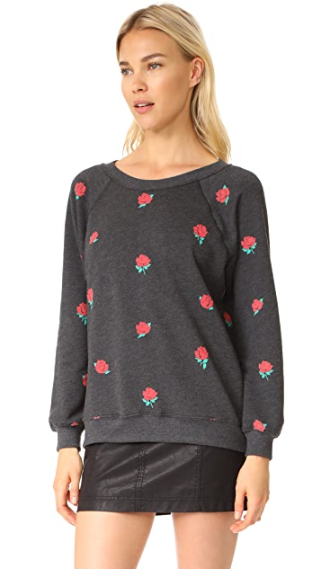 Wildfox Garden Roses Sweatshirt