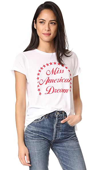 Wildfox Miss American Dream Tee