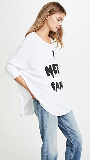 Wildfox Need Candy Perry Thermal Tee