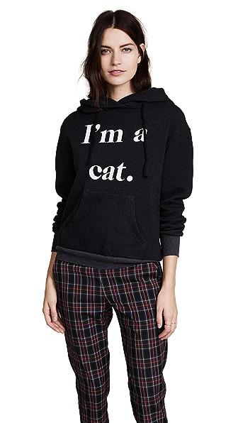 Wildfox I'm a Cat Hoodie In Black