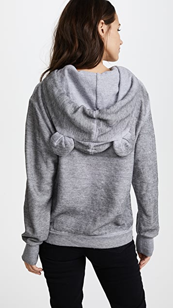 Wildfox I'm a Mouse Cuddles Mouse Hoodie