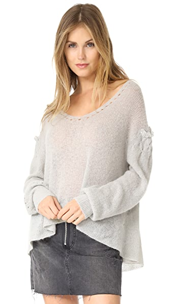 Wildfox Sissy Sweater - Heather Ash Grey