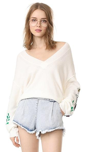 Wildfox Shrine Sweater
