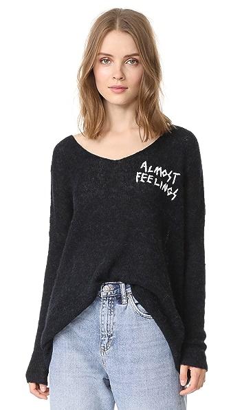 Wildfox Almost Feelings Beyond Sweater