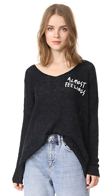 Wildfox Almost Feelings Beyond Sweater