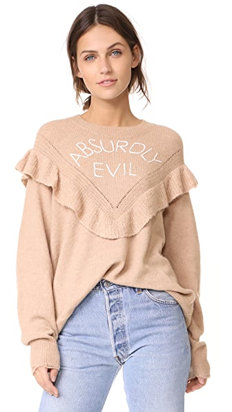 Wildfox Absurdly Evil Ryder Sweater